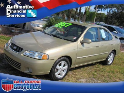 Pre-Owned 2002 Nissan Sentra GXE